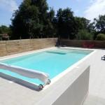 La piscine est officiellement ouverte aux hôtes du Domaine!