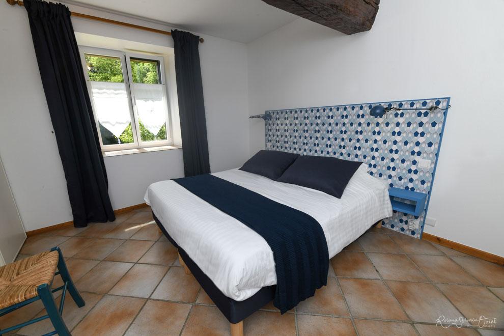 Chambre d'hôtes bleue 2 personnes en Vendée
