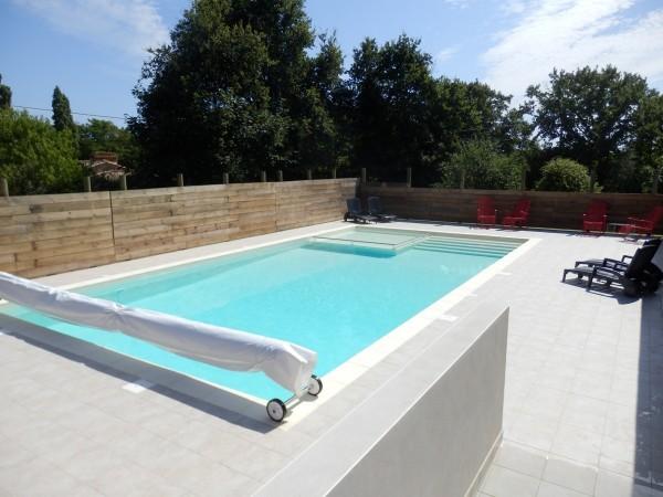 Gîte avec piscine chauffée proche de saint gilles croix de vie en Vendée