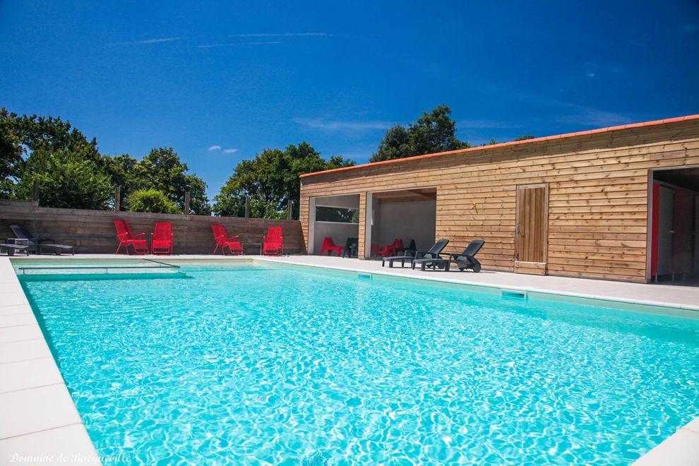 Gite de groupe avec piscine chauffée en Vendée