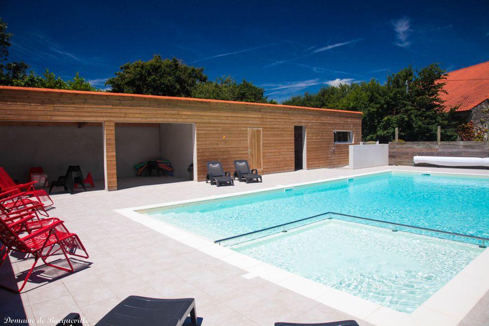 Gîtes de groupes avec piscine chauffée en Vendée
